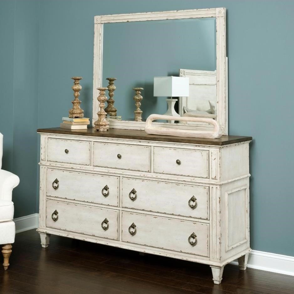 41018 Dresser & Mirror