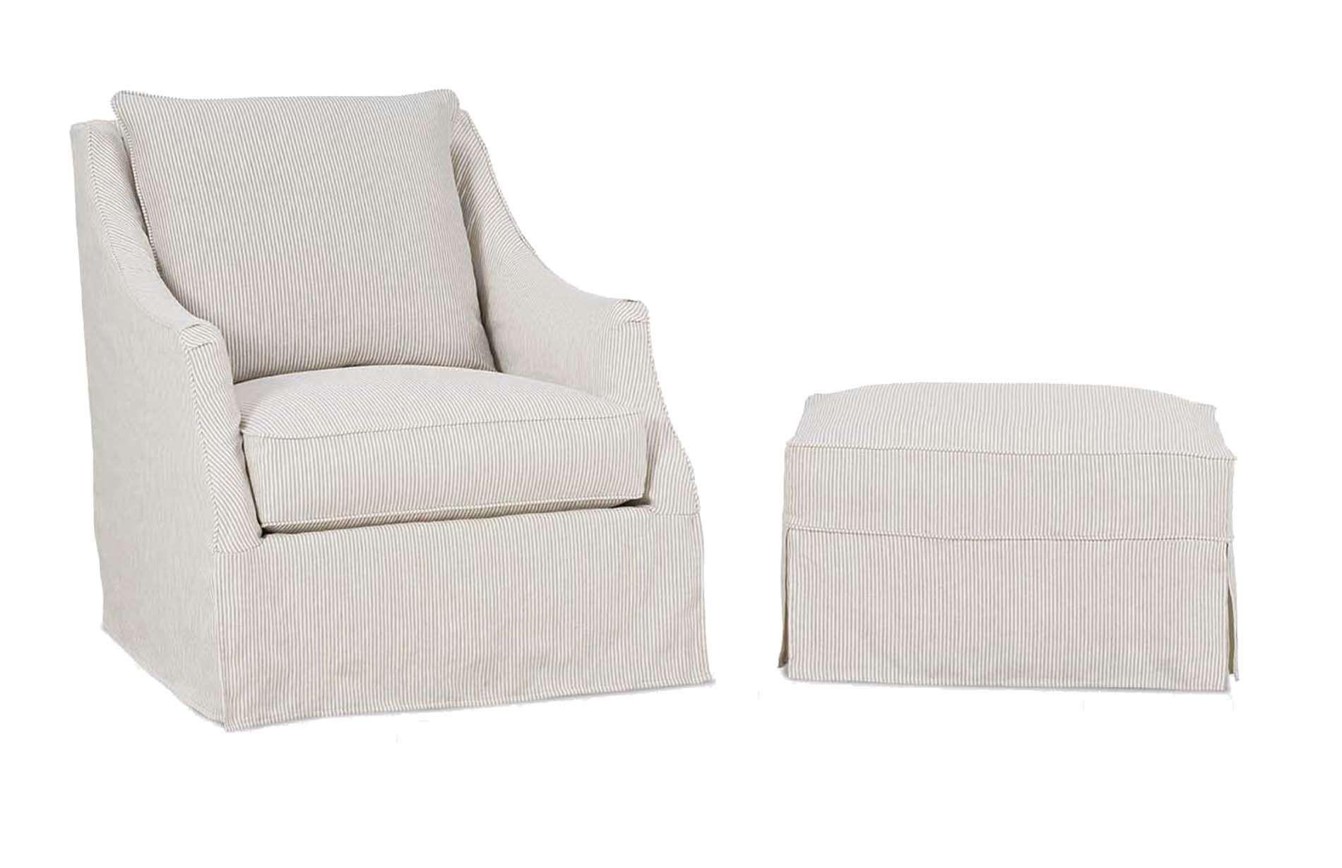 53331 Slipcover Swivel Chair