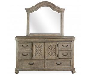 51276/78 Dresser & Mirror
