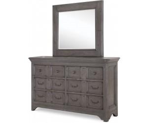 43602 Dresser & Mirror